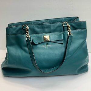 Kate Spade Forest Emerald Green Handbag